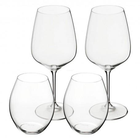 Juego de copas / vasos vino tinto Riedel