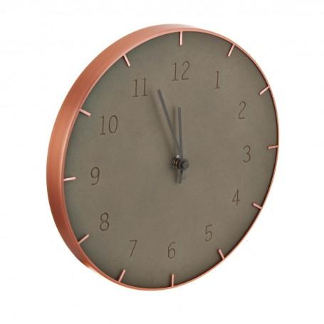 Reloj para pared Cobre / Concreto Umbra