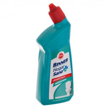 Limpiador desinfectante sin cloro para inodoro Binner