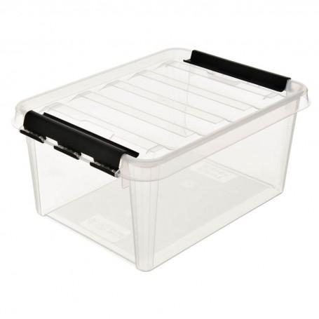 Caja organizadora con tapa Clear