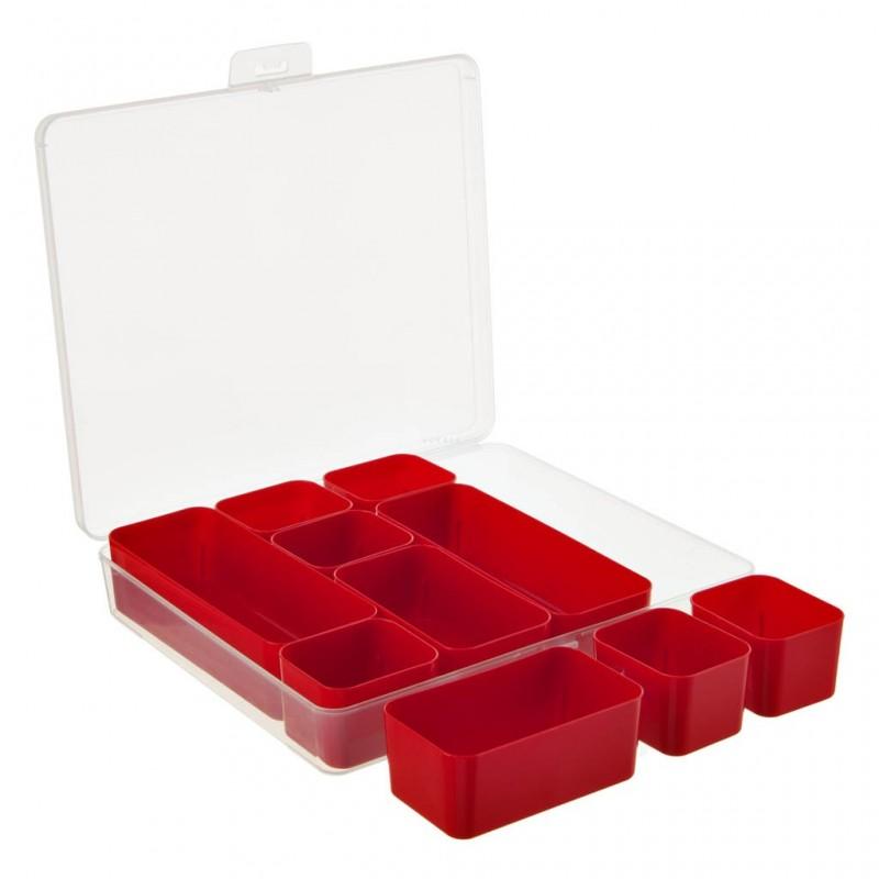 Caja organizadora 10 divisiones Sunware