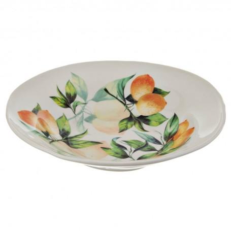 Ensaladera Limones Ceramica Cuore