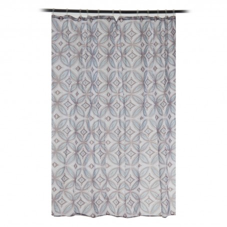 Cortina para baño Vintage Tile Interdesign