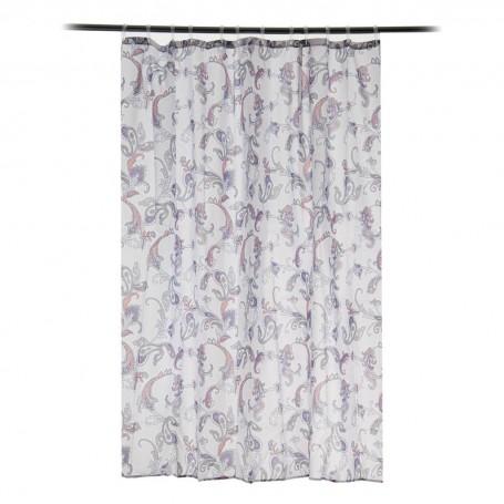 Cortina para baño Emma Paisley Interdesign