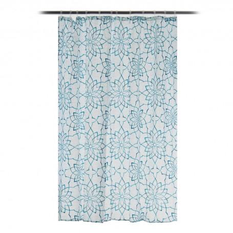 Cortina para baño Kenzie Floral Interdesign