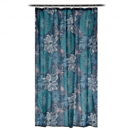 Cortina para baño Sketched Floral Interdesign