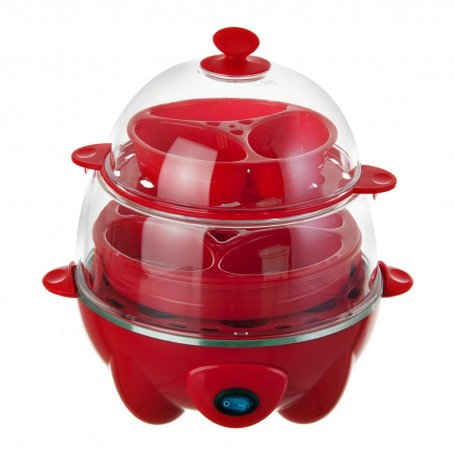 Máquina para cocinar huevos 2 niveles 500W DEC012 Dash