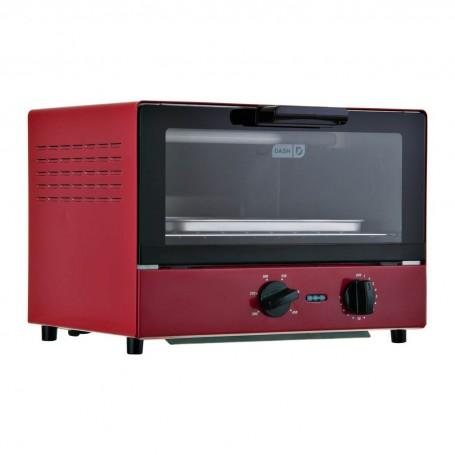 Horno tostador 4 panes / 6 niveles con temporizador 1100W DCTO100 Dash
