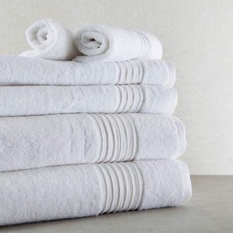 Juego de toallas facial / manos / baño 6 piezas Plain Ladinne