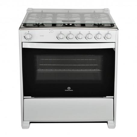 Indurama Cocina a gas con 6 quemadores / Termocontrol 80cm Verona
