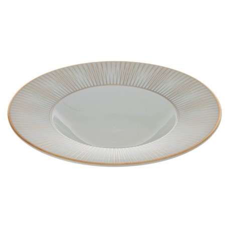 Plato para sopa Borde Rayas Glint Spal