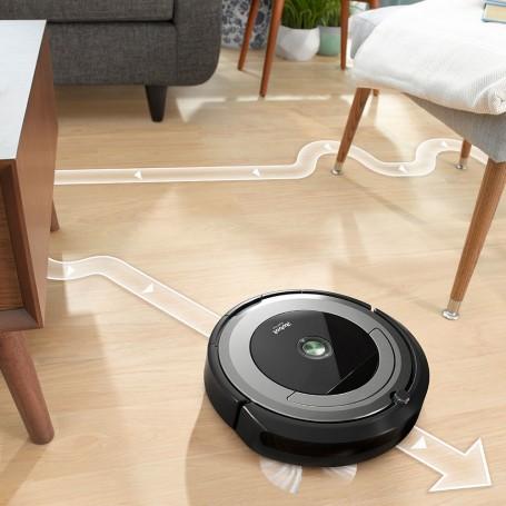 Aspiradora robótica Wi-Fi / 3 etapas de cepillado / Programable / Soporta App Android & iOS Roomba 690
