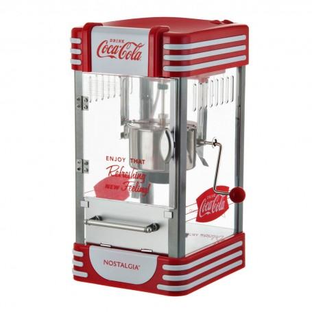Máquina para popcorn Aceite 10 tazas / 300W Coca-Cola Nostalgia