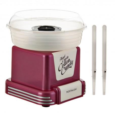 Máquina para algodón de azúcar 450W Fucsia Nostalgia