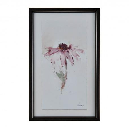 Cuadro con marco Flor Rosada