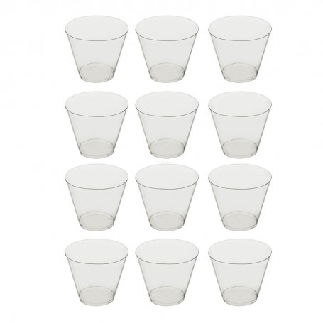 Juego de 12 vasos Clear
