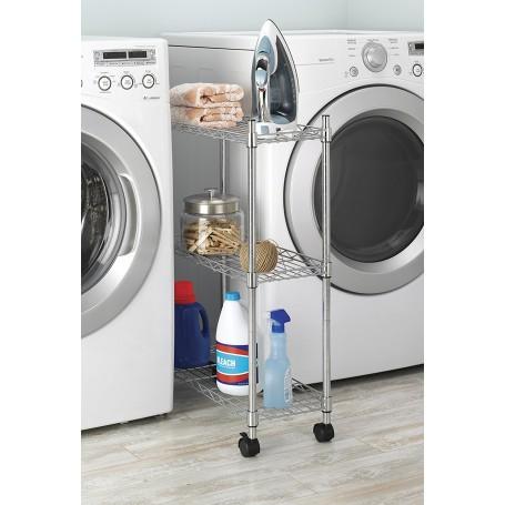 Organizador para lavandería con ruedas Whitmor