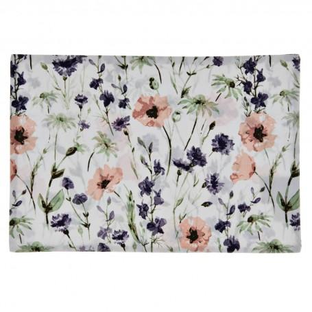 Individual Flores Morado / Rosado Haus