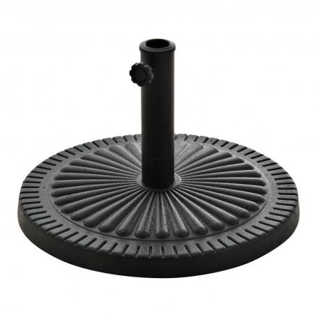 Base para parasol Negro