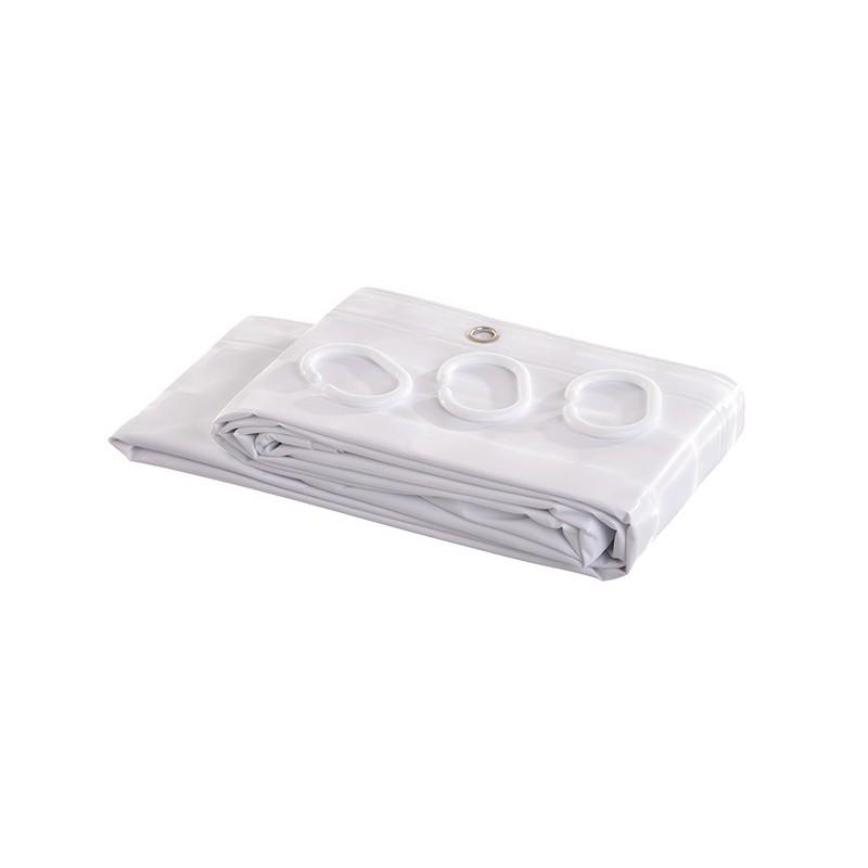 Cortina de baño Orbit Maytex Mills Blanco
