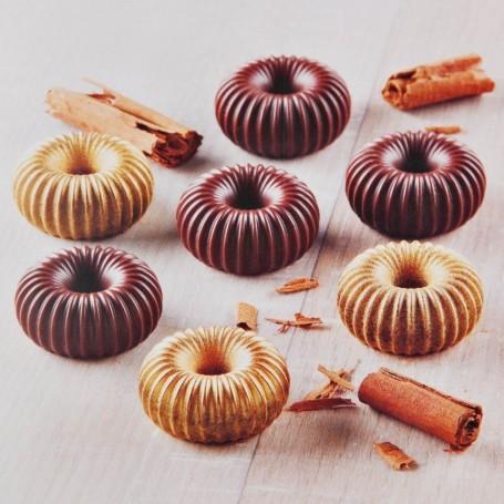 Mini molde para chocolate Rosquitas Silikomart
