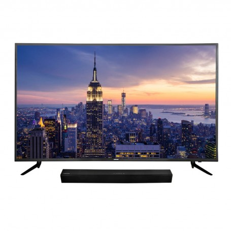 Samsung TV LED digital ISDB-T UHD Smart UN58NU7103 + Barra de Sonido