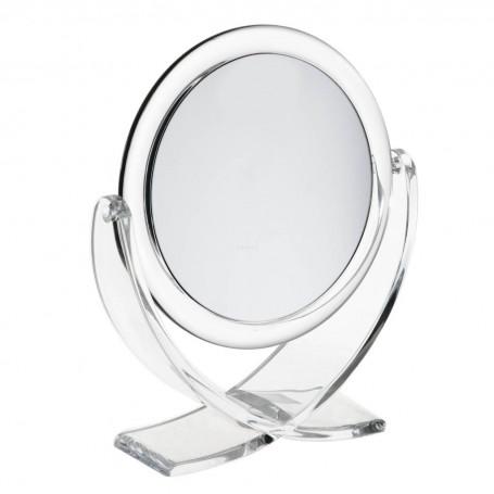 Espejo doble lado aumento 5X con pedestal Novo