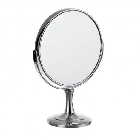 Espejo doble lado con aumento 5X y pedestal bajo