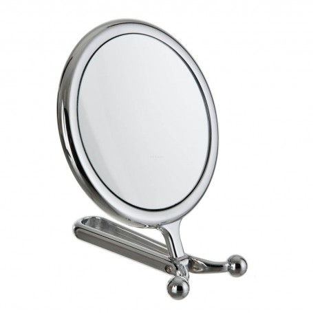 Espejo doble lado plegable con aumento 7X