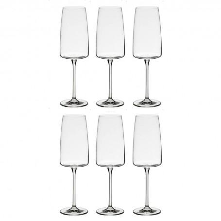 Juego de 6 copas champagne Sensa Schott Zwiesel