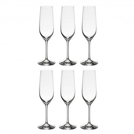 Juego de 6 copas champagne Viña Schott Zwiesel