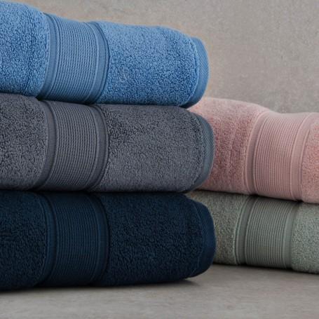 Toalla de baño Solid 100% algodón Haus