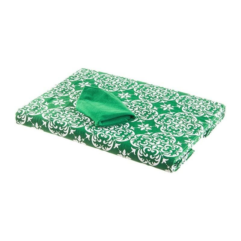 Mantel estampado rectangular para 8-10 puestos Haus