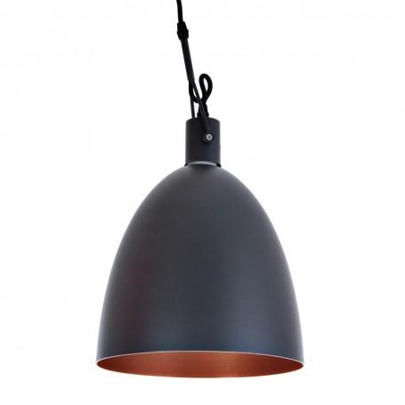 Lámpara de techo 1 luz Gris