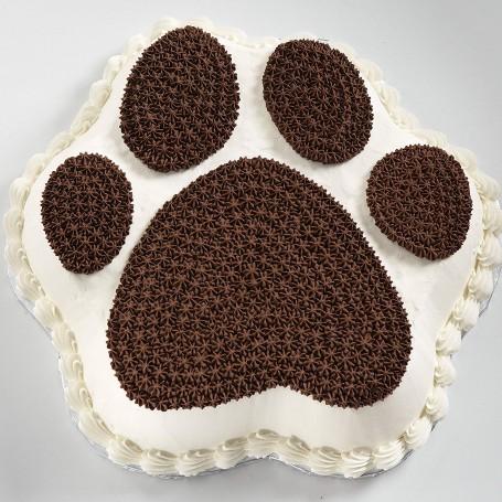 Molde para pastel Huella Mascota Wilton