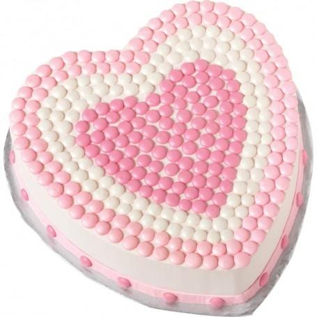 Molde de aluminio para pastel Corazón Wilton