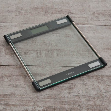 Balanza digital  para baño 4 sensores / Autoencendido Negro / Clear Camry
