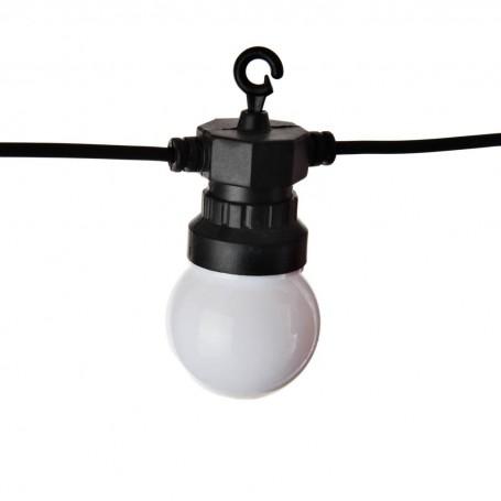 Juego de 12 luces LED para patio Round