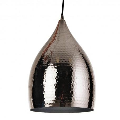 Lámpara para techo con pantalla Campana Martillado Haus