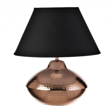 Lámpara de mesa Martillado Cobre Haus
