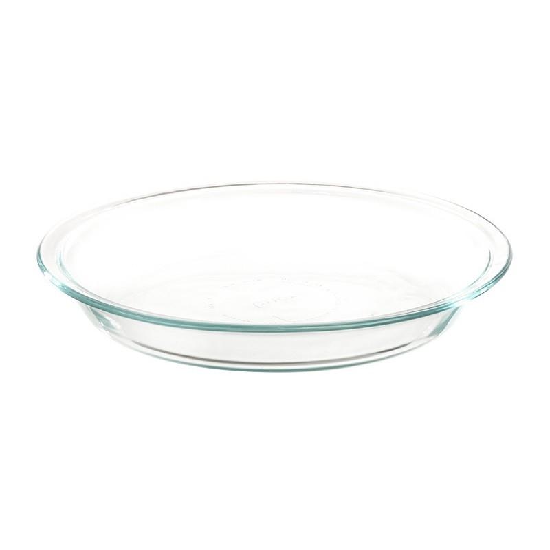 Molde redondo vidrio para pie Pyrex