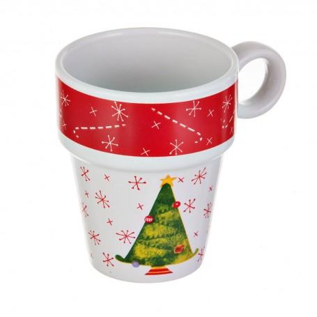 Jarro Árbol Navidad
