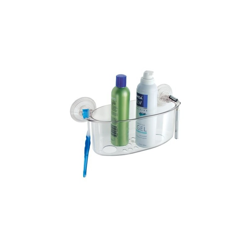 Organizador para ducha Powerlock Suction Interdesign