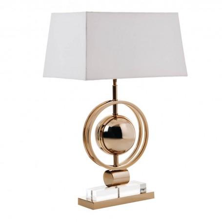 Lámpara de mesa Circular Dorado Haus