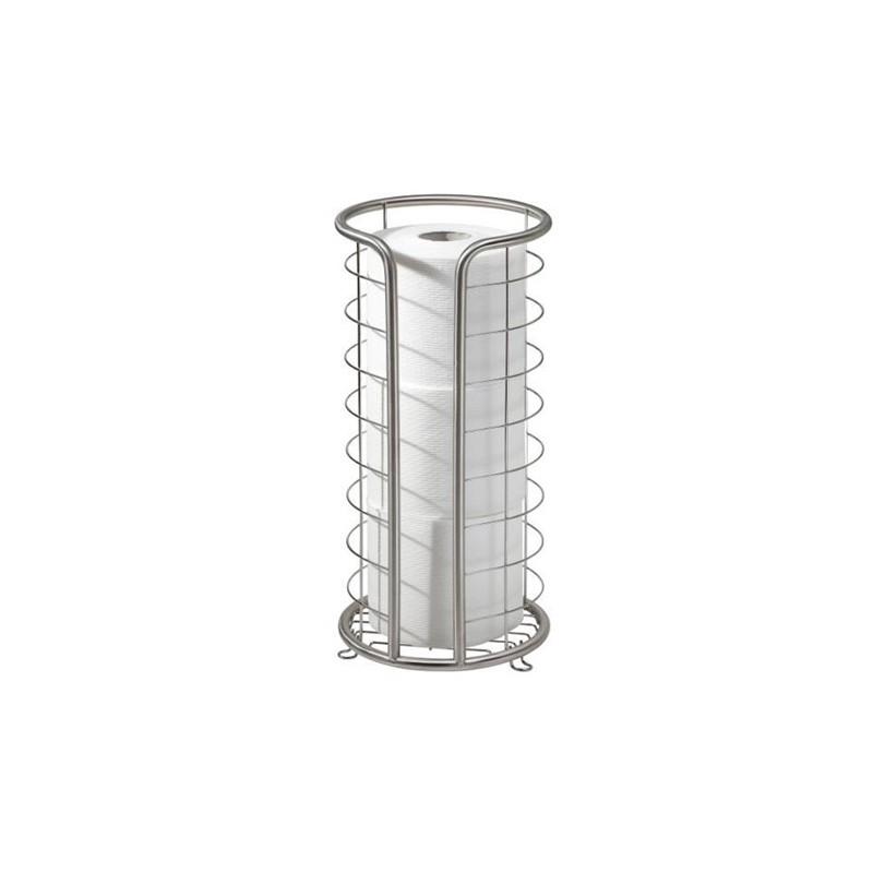 Organizador para rollos de papel acero inoxidable Forma Interdesign