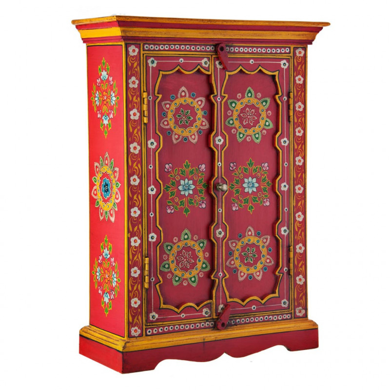 Mueble con puertas Rojo / Multicolor Haus