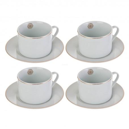 Juego de tazas y platos para té Alhambra Haus