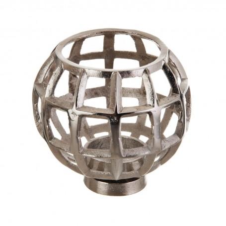 Porta votiva Perforado Silver