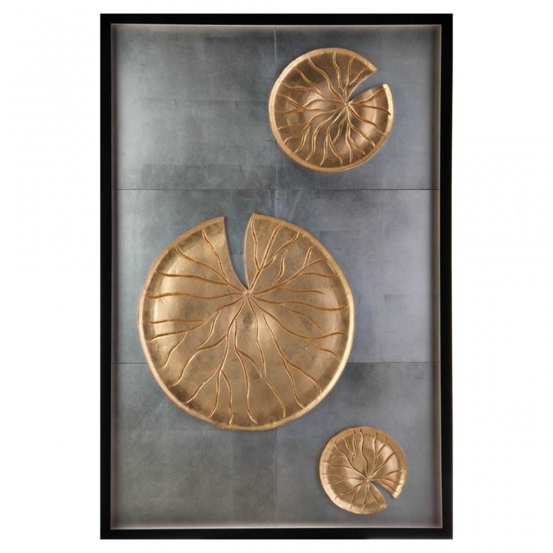 Cuadro Aplique Medallones Haus