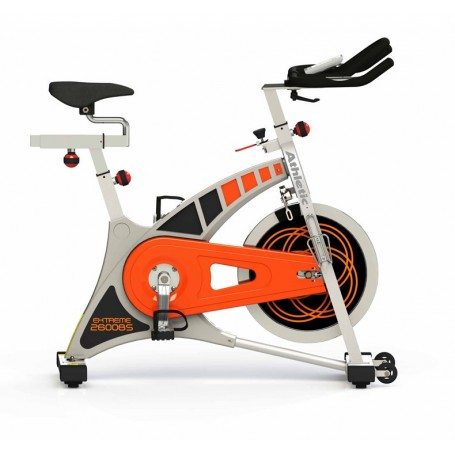 Bicicleta Spinning Extreme 2600BS Disco Inercia 20 kg / 8 funciones Athletic
